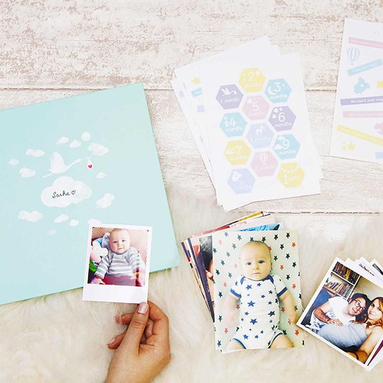 The Baby photo book - DIY Cheerz 1