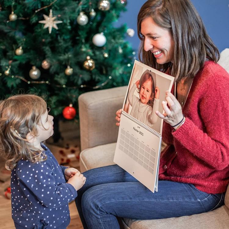 Calendario foto di Natale - A4 Orizzontale Cheerz 2