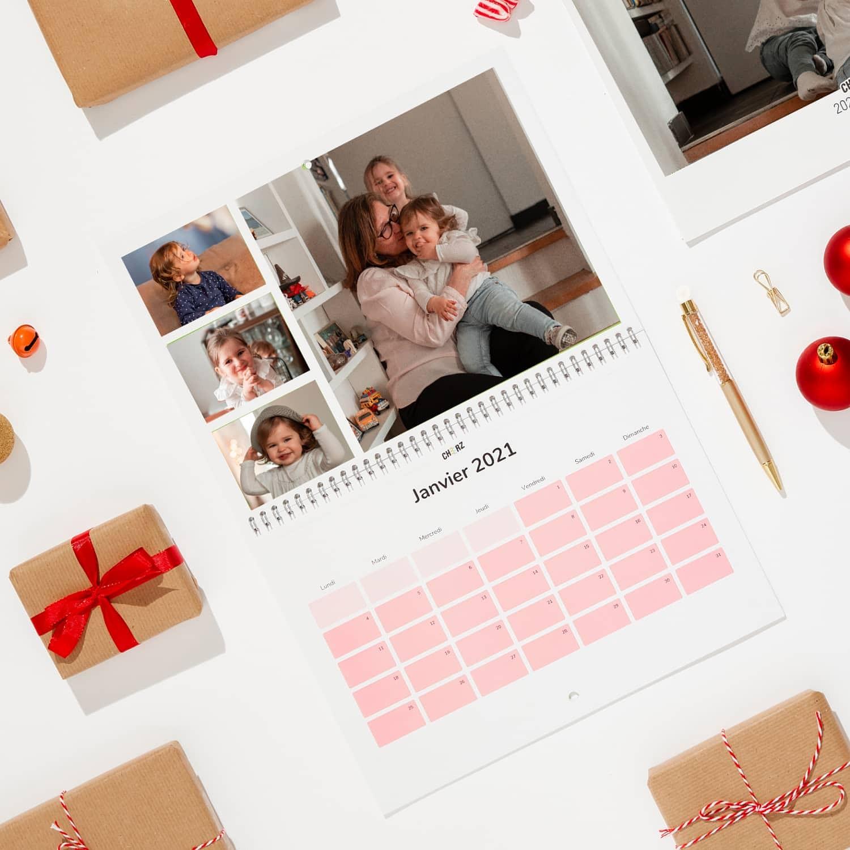 Calendario de fotos de Navidad - A4 Paisaje