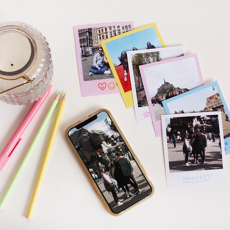 Stampe fotografiche vintage - Cheerz x Disegnetti Depressetti Cheerz 4