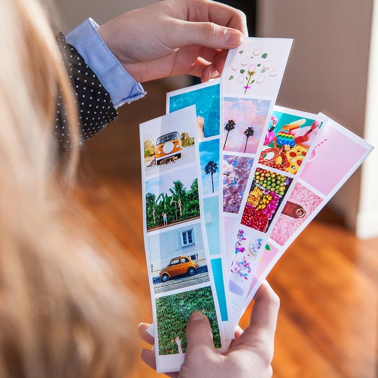 Tiras fotomatón + mini-marco LEGO® DOTS de regalo Cheerz 2