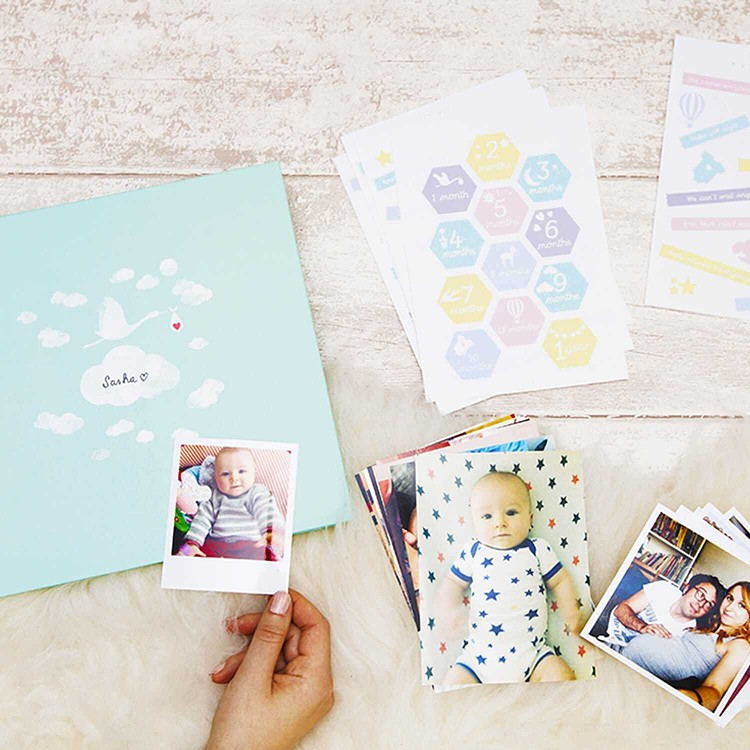 The Baby photo book - DIY Cheerz 1