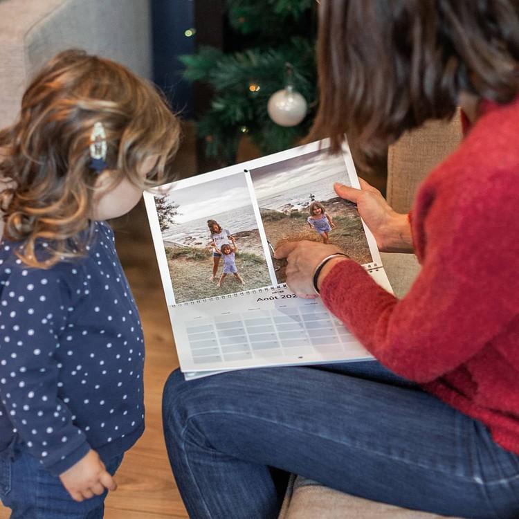 Calendario foto di Natale - A4 Orizzontale Cheerz 5