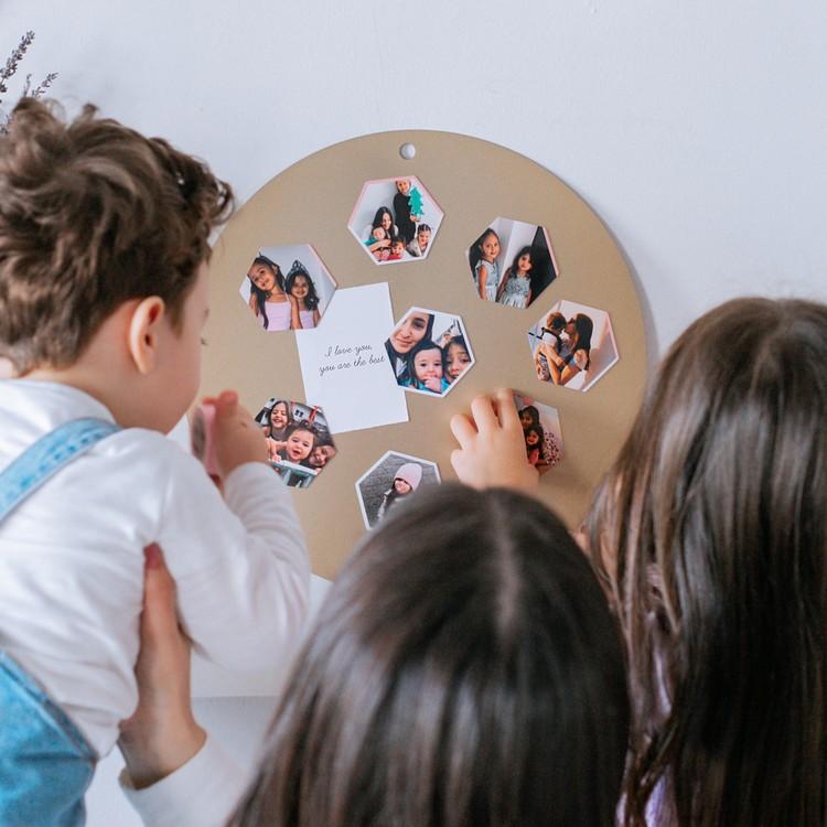 Magnets hexa fête des Mères Cheerz 4