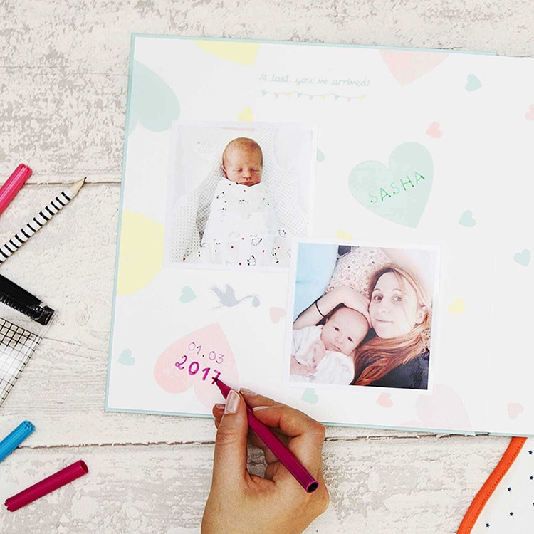 The Baby photo book - DIY Cheerz 4