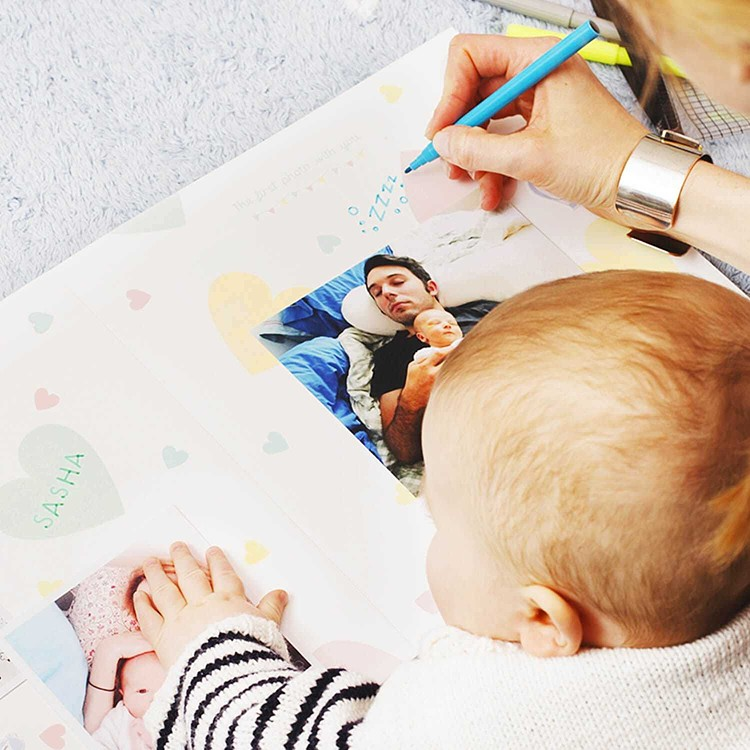 The Baby photo book - DIY Cheerz 5