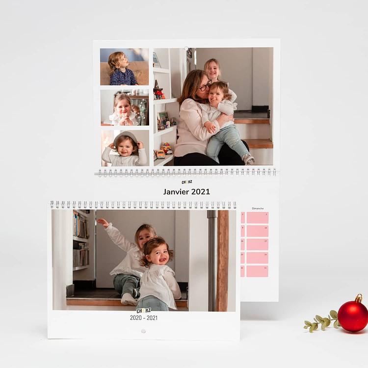 Calendario foto di Natale - A4 Orizzontale Cheerz 3