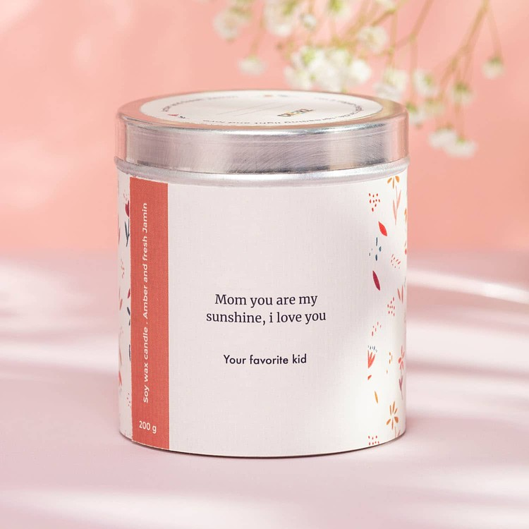 Personalised Scented Candle Cheerz 2