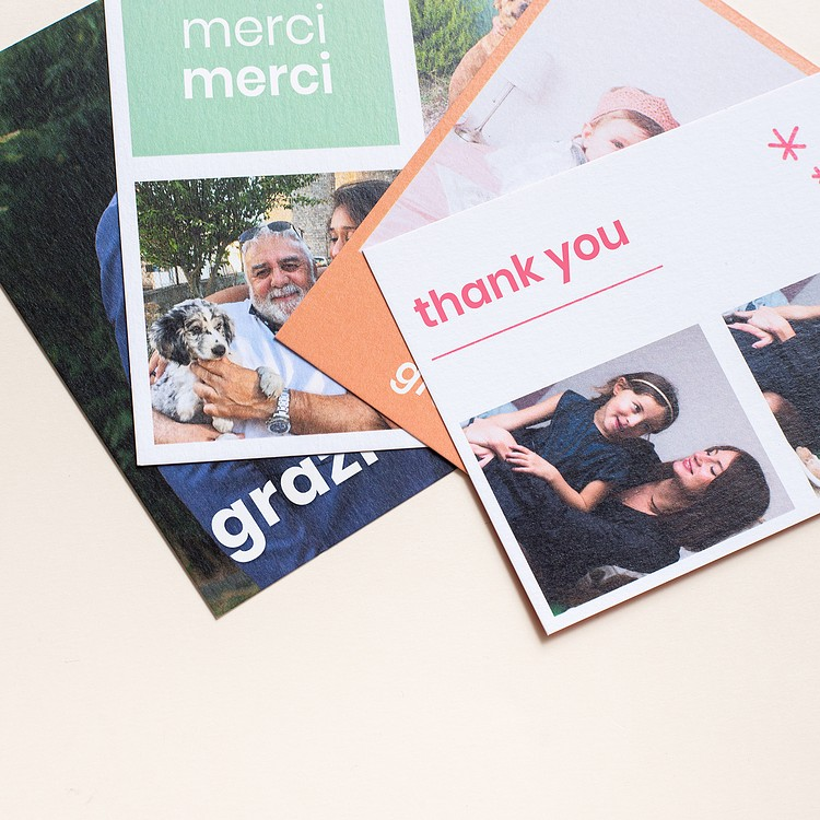 Thank you cards Cheerz 2