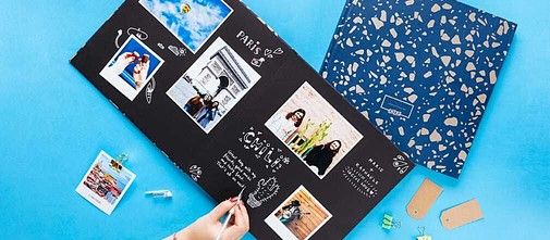 Grand album photo scrapbooking Cheerz