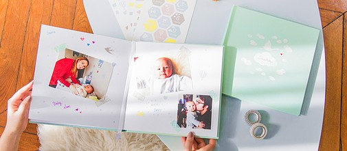 The Baby photo book - DIY Cheerz