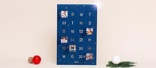 Calendario dell'Avvento con Foto Cheerz
