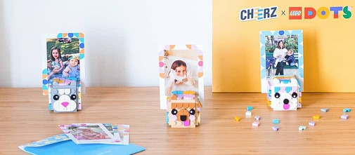 LEGO® DOTS photo cubes Cheerz