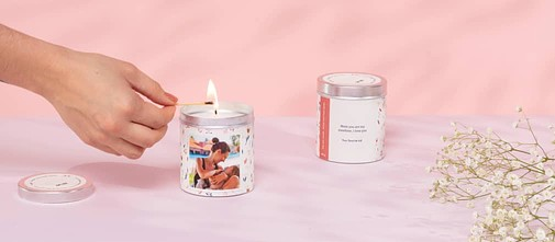 Personalised Scented Candle Cheerz